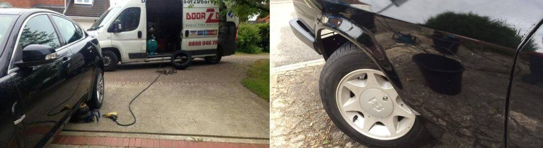 Home event tyres service in Kent