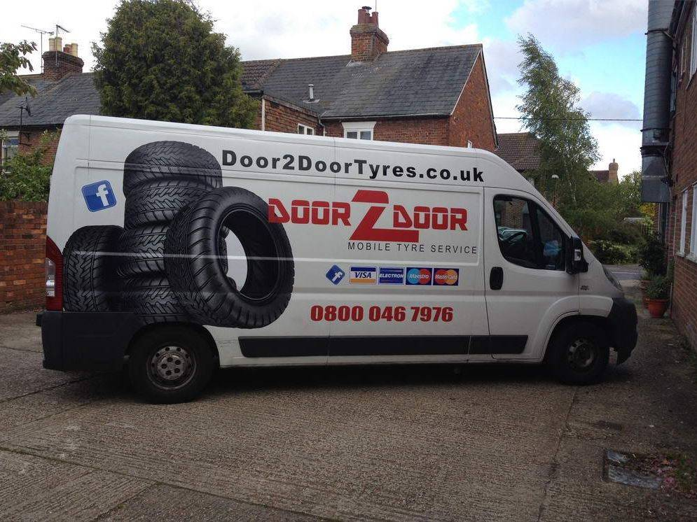 Door2Door Tyres - Kent's leading cheap mobile tyre fitting company