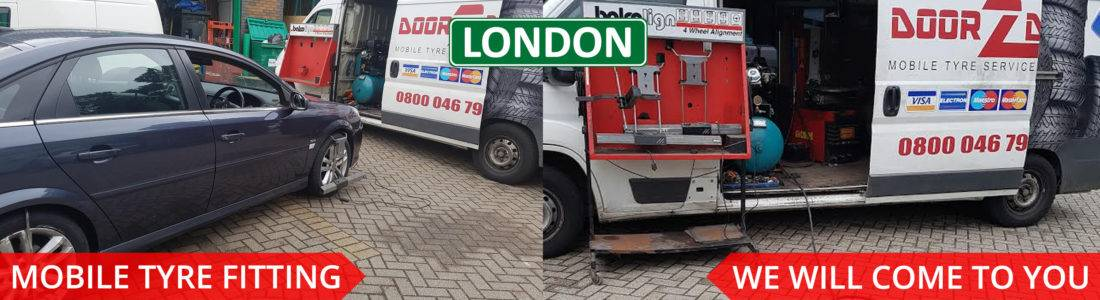 Cheap mobile tyre fitting and repair service in London